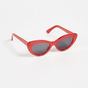 Illesteva Pamela cat eye sunglasses in Red